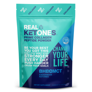 Unflavored Prime Collagen Peptide Powder with Ketones
